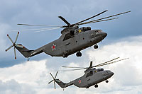 Helicopter-DataBase Photo ID:13037 Mi-26T Russian Air Force RF-95572 cn:34001212529