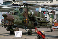 Helicopter-DataBase Photo ID:7680 Mi-28A Mil Moscow Helicopter Plant 032 yellow