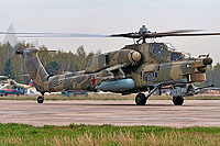 Helicopter-DataBase Photo ID:7669 Mi-28N Russian Air Force 03 blue cn:34012840209