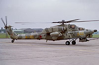 Helicopter-DataBase Photo ID:7744 Mi-28A Mil Moscow Helicopter Plant 042 yellow