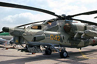 Helicopter-DataBase Photo ID:16518 Mi-28A Mil Moscow Helicopter Plant 042 yellow
