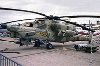 Helicopter-DataBase Photo ID:16522 Mi-28A Mil Moscow Helicopter Plant 042 yellow