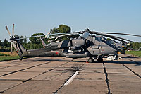 Helicopter-DataBase Photo ID:12845 Mi-28N Russian Air Force 201 blue
