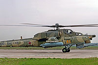 Helicopter-DataBase Photo ID:7670 Mi-28N Russian Air Force 41 yellow cn:34012840203