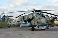Helicopter-DataBase Photo ID:7756 Mi-28N Russian Air Force 41 yellow cn:34012840203