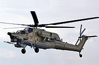 Helicopter-DataBase Photo ID:9423 Mi-28UB ROSTVERTOL  cn:OP-1