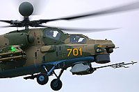 Helicopter-DataBase Photo ID:12971 Mi-28NM MVZ Moscow Helicopter Plant 701 yellow cn:OP-1