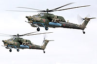 Helicopter-DataBase Photo ID:13420 Mi-28N Russian Air Force RF-13654