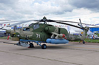 Helicopter-DataBase Photo ID:13923 Mi-28N Russian Air Force RF-95345 cn:34012843403