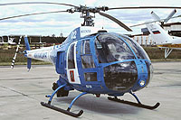 Helicopter-DataBase Photo ID:17584 Mi-34 Moscow Police 02 white cn:978300..02004