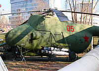 Helicopter-DataBase Photo ID:3886 Mi-4 Central museum of Armed Forces 05 red