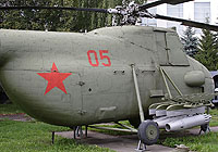 Helicopter-DataBase Photo ID:4936 Mi-4 Central museum of Armed Forces 05 red
