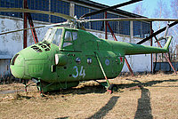 Helicopter-DataBase Photo ID:3923 Mi-4 Museum Monino 34 blue cn:1104