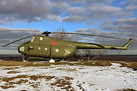 Helicopter-DataBase Photo ID:16647 Mi-4 War Hill Museum 40 white
