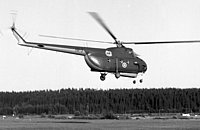 Helicopter-DataBase Photo ID:1323 Mi-4 Finnish Air Force HR-3 cn:09114