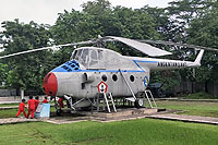 Helicopter-DataBase Photo ID:17994 Mi-4 Museum of the Indonesian Naval Force (no registration)