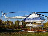 Helicopter-DataBase Photo ID:1249 Mi-4A Museum Nizhnevartovsk RA-36574 cn:17157