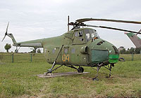 Helicopter-DataBase Photo ID:4274 Mi-4 Lugansk Aircraft Repair Plant Museum 04 yellow