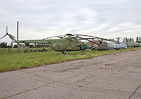 Helicopter-DataBase Photo ID:4275 Mi-4 Lugansk Aircraft Repair Plant Museum 04 yellow