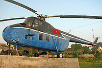 Helicopter-DataBase Photo ID:3885 Mi-4S Vietnam People's Air Force Museum 151D