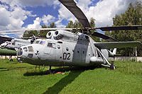 Helicopter-DataBase Photo ID:13934 Mi-6 Museum Monino 02 black cn:0030101V