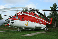 Helicopter-DataBase Photo ID:9993 Mi-6PZh-2 Museum Monino 41 yellow cn:9683901V