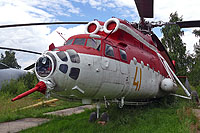 Helicopter-DataBase Photo ID:13932 Mi-6PZh-2 Museum Monino 41 yellow cn:9683901V