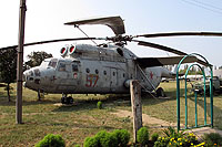 Helicopter-DataBase Photo ID:9045 Mi-6 Lugansk Aircraft Repair Plant Museum 57 red cn:737006V