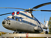 Helicopter-DataBase Photo ID:1250 Mi-6A Museum Nizhnevartovsk RA-21075 cn:0717
