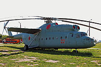 Helicopter-DataBase Photo ID:14519 Mi-6A State Aviation Museum 22 red cn:0562