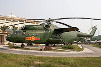 Helicopter-DataBase Photo ID:11078 Mi-6A Vietnam People's Air Force Museum 7609 cn:720856