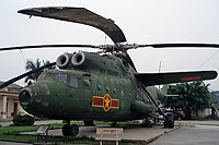 Helicopter-DataBase Photo ID:14225 Mi-6A Vietnam People's Air Force Museum 7609 cn:720856