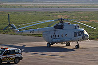 Helicopter-DataBase Photo ID:6308 Mi-8T unknown 3X-HLG