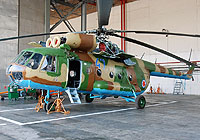 Helicopter-DataBase Photo ID:3960 Mi-8T Georgian Air Force 47 blue