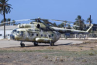 Helicopter-DataBase Photo ID:7334 Mi-8T Libyan Air Force 8105