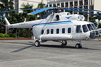 Helicopter-DataBase Photo ID:8219 Mi-8PS Civil Aviation College Guangzhou B-01 cn:20215