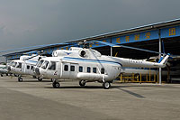 Helicopter-DataBase Photo ID:9994 Mi-8PS Civil Aviation College Guangzhou B-01 cn:20215