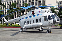Helicopter-DataBase Photo ID:8220 Mi-8PS Civil Aviation College Guangzhou B-02 cn:20216