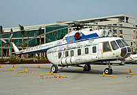 Helicopter-DataBase Photo ID:1388 Mi-8PS Civil Aviation College Guangzhou B-7805 cn:20215