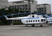 Helicopter-DataBase Photo ID:5050 Mi-8PS Civil Aviation College Guangzhou B-01 cn:20215
