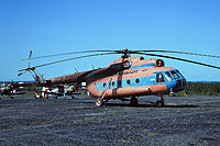 Helicopter-DataBase Photo ID:18162 Mi-8T Aeroflot CCCP-24207 cn:98730167