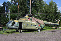Helicopter-DataBase Photo ID:17428 Mi-8T The Cannons at Torp Museum CCCP-25267 cn:1007