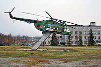 Helicopter-DataBase Photo ID:11548 Mi-8T Saratov Higher Military Aviation School of Pilots - SVVAUL 01 blue