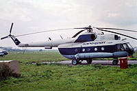 Helicopter-DataBase Photo ID:18104 Mi-8AT Soviet Air Force 01 blue cn:9754905