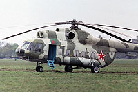 Helicopter-DataBase Photo ID:1136 Mi-8PS Group of Soviet Forces in Poland 01 red