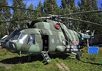 Helicopter-DataBase Photo ID:4273 Mi-8T Museum Torzok 04 yellow