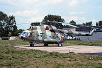 Helicopter-DataBase Photo ID:12215 Mi-8IV 245th Independent Mixed Aviation Regiment 05 blue cn:9798719