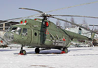 Helicopter-DataBase Photo ID:3954 Mi-8T Museum Monino 05 red cn:0604