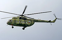 Helicopter-DataBase Photo ID:1739 Mi-8PS Russian Air Force 06 yellow cn:8165