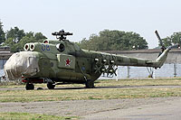 Helicopter-DataBase Photo ID:6394 Mi-8PPA Russian Air Force 08 blue cn:9787508